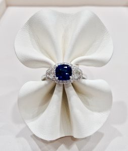 A sapphire ring from our stock.