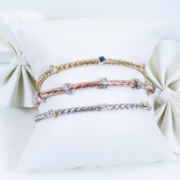 Image of Woven Stackable bracelets
